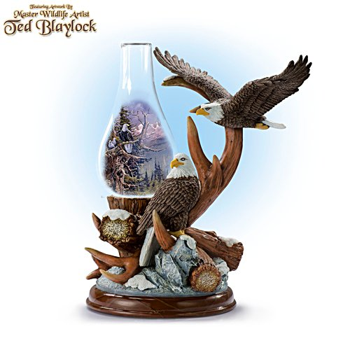 Ted Blaylock 'Nature's Wonders' Eagle Table Lamp