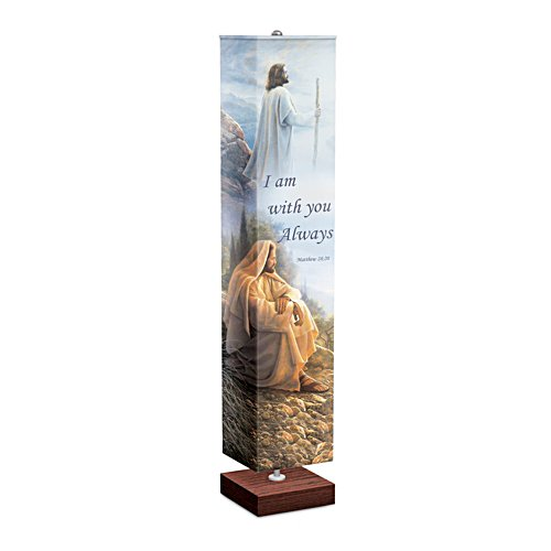 Greg Olsen 'Light Of The World' Faith Floor Lamp