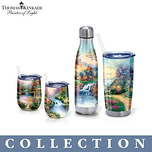 Thomas Kinkade Tranquility Insulated Drinkware Collection