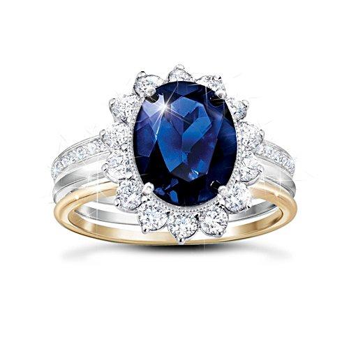 'Love, Duty, And Devotion' Ladies' Royal Diamonesk® Ring Set