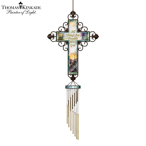 Thomas Kinkade Heavensong 'Faith' Wind Chime