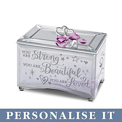 'Granddaughter, You Are Strong' Personalised Music Box