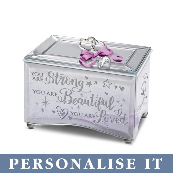 Granddaughter, You Are Strong' Personalised Music Box