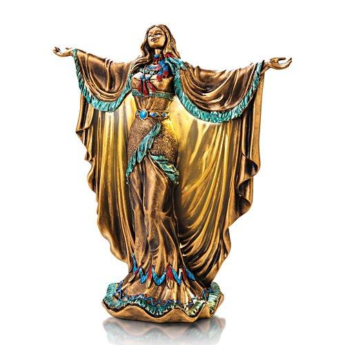 'Mystic Spirits' Illuminated Cold-Cast Bronze Sculpture