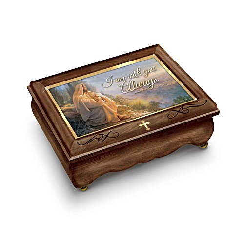 'I Am With You Always' Music Box
