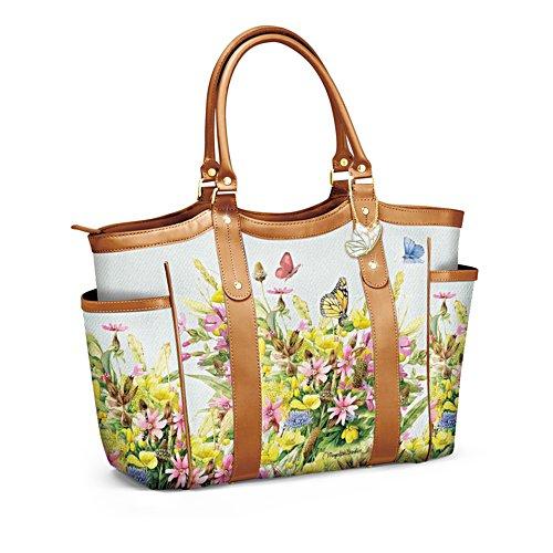 'Garden Splendour' Butterfly Tote Bag