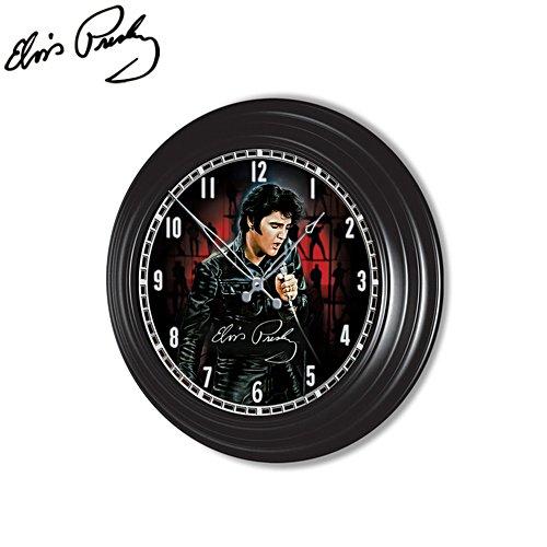Elvis Presley™ Indoor/Outdoor Illuminated Atomic Clock