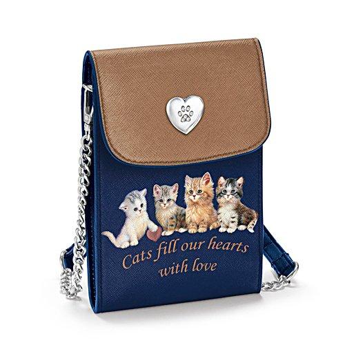 Kätzchen mit Stil – Handy-Tasche
