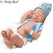 'Charlie' So Truly Real® Baby Boy Doll