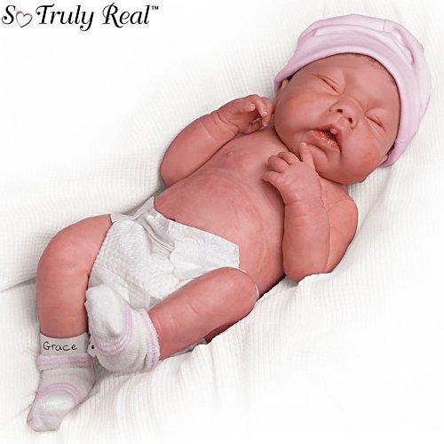 Wir sind bei Dir, kleine Grace – Babypuppe