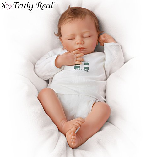 'Ashley' So Truly Real® Touch-Activated Interactive Breathing Baby Doll