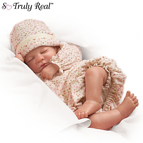 'Hush, Little Baby' Touch-Activated Breathing So Truly Real® Girl Doll
