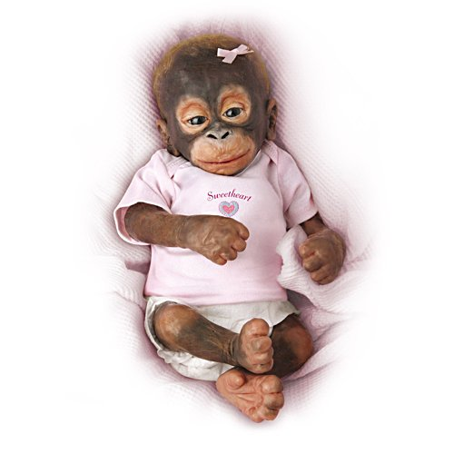 'Little Umi' Baby Orangutan Doll