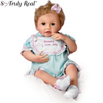 'Mommy, I Love You' Touch-Activated Interactive Baby Girl Doll
