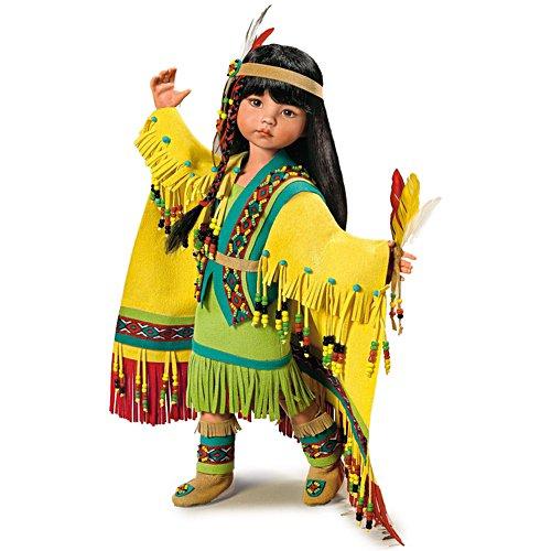 Tuchtänzerin – Indianermädchen-Puppe