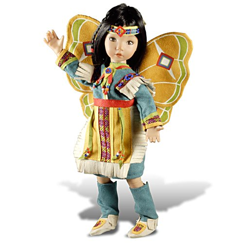 'Beautiful Butterfly Dancer' Native-American Doll