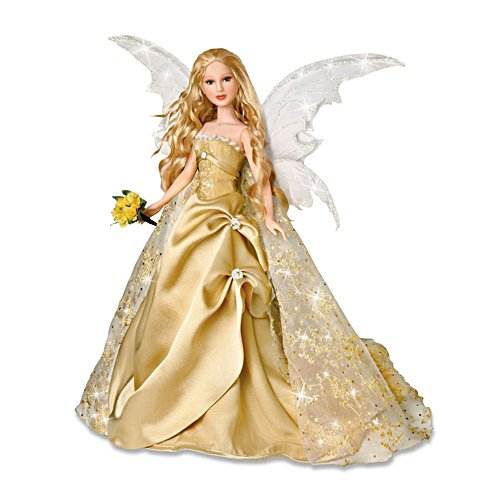 'Innocence' Poseable Fairy Bride Doll