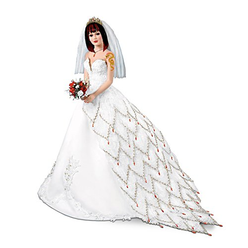'Fire And Ice Dragon' Tattoo Bride Doll