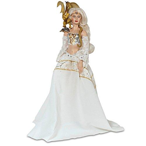 Königin des Winters – Fantasy-Puppe