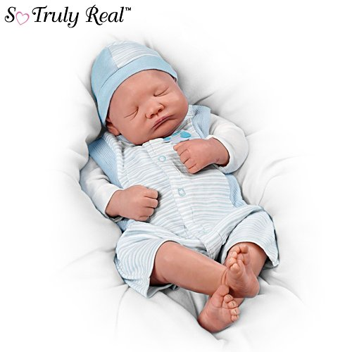 'Welcome Home' 25th Anniversary So Truly Real® Baby Boy Doll
