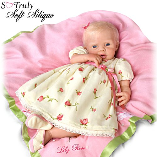 'Lily Rose' So Truly Soft Silique® Baby Girl Doll