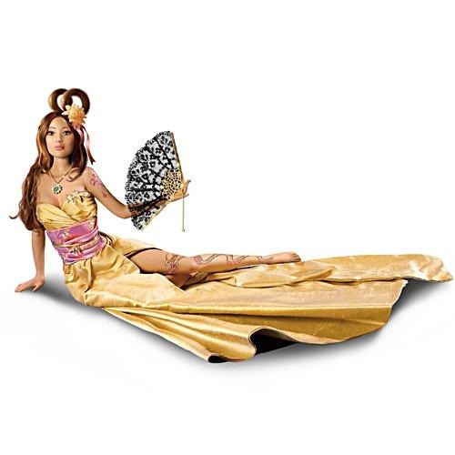 Caladenia, die Drachenflüsterin – Fantasy-Puppe