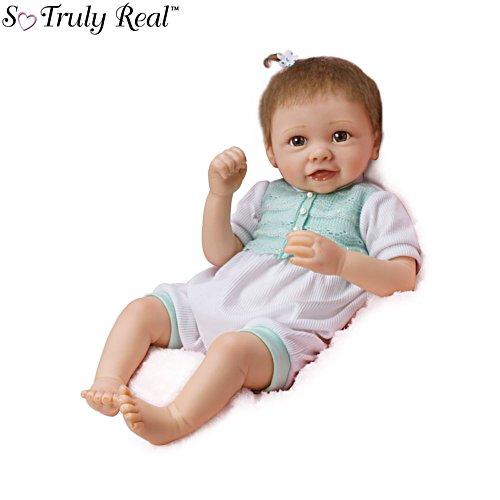 'Alyssa's Happy Feet' So Truly Real® Baby Girl Doll