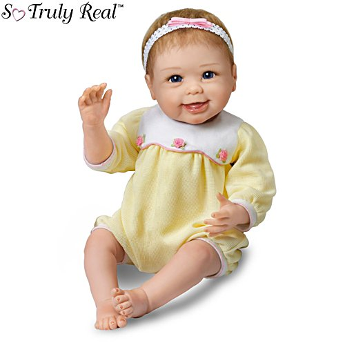 'Hailey Waves Bye-Bye' Touch-Activated So Truly Real® Baby Girl Doll