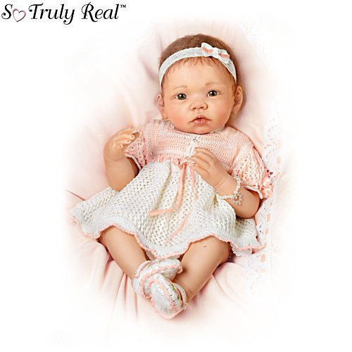 'Peaches And Cream' So Truly Real® Baby Girl Doll