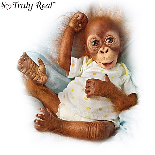 'Baby Babu' So Truly Real® Orangutan Doll