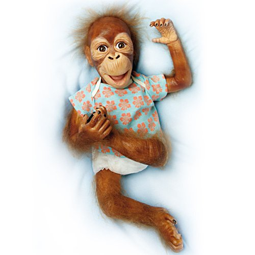 Simon Laurens 'Baby Maha' Orangutan Child Doll