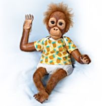 'Baby Juma' Monkey Doll