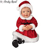 'Avery's First Christmas' So Truly Real® Baby Girl Doll