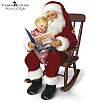 Thomas Kinkade 'The Night Before Christmas' Doll Set