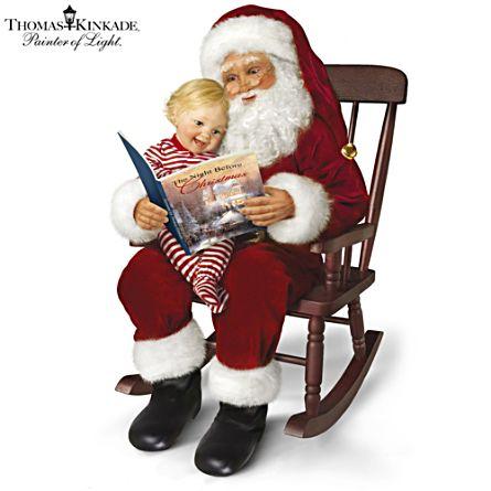 Thomas Kinkade 'The Night Before Christmas' Doll Set
