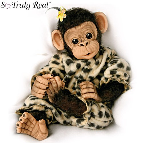 'Little Ubu' So Truly Real® Baby Chimpanzee Girl Doll