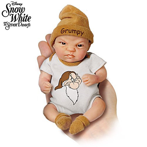 Disney 'Grumpy' Snow White Miniature Baby Doll