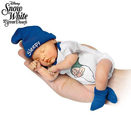 Disney 'Sleepy' Snow White Miniature Baby Doll
