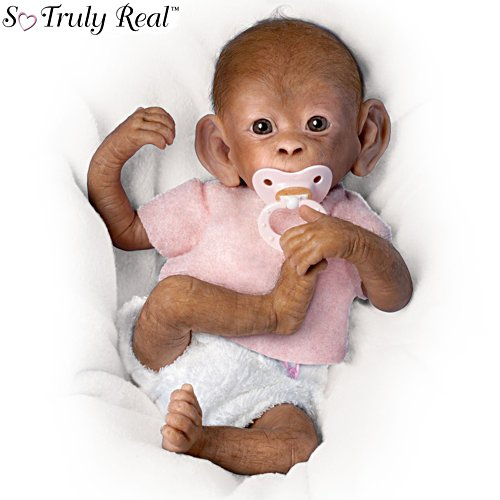 'Coco' So Truly Real® Poseable Lifelike Baby Monkey Doll
