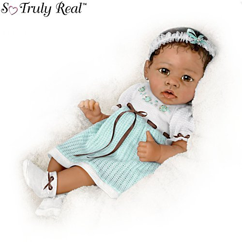 'Alicia' Touch-Activated Interactive Baby Girl Doll