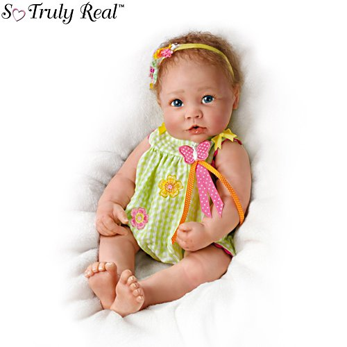 'Butterfly Kisses' Touch-Activated Baby Girl Doll