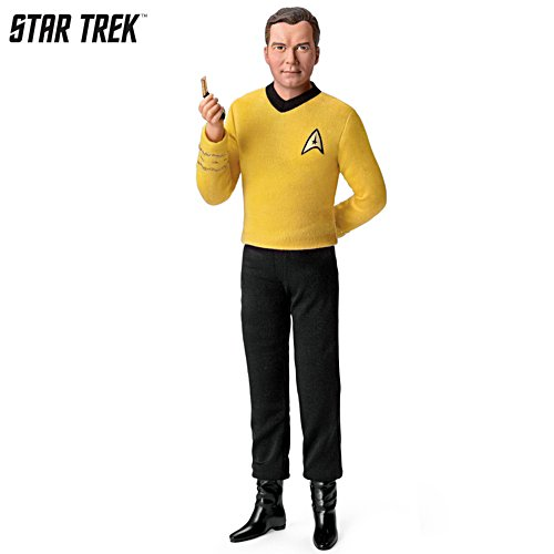 STAR TREK™ 'Captain Kirk' Talking Poseable Figure