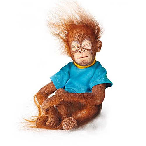 'No How Lil' Bunches Of Fun Baby Orangutan Doll