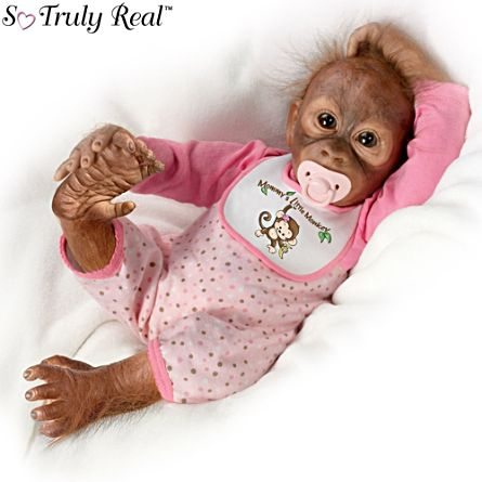 Leila S Loving Touch So Truly Real 174 Monkey Doll