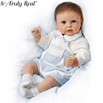'Ethan's Sweet Touch' Touch-Activated Interactive Baby Doll