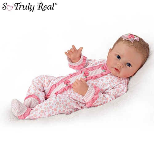'Katie' Touch-Activated Interactive Baby Girl Doll