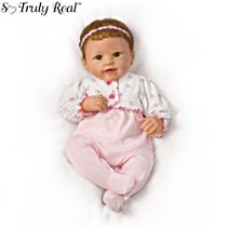 'Sadie' Interactive Touch-Activated So Truly Real® Baby Doll