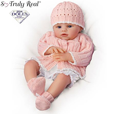 So Truly Real Reborn Lifelike Baby Doll Abby Rose So