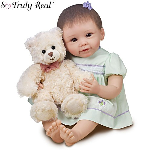 'Lily And Gracie Bear' So Truly Real® Baby Doll