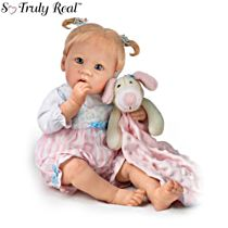 'Sleepytime Emma' Touch-Activated Interactive Baby Girl Doll